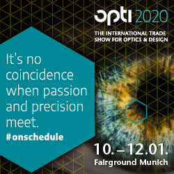 opti - The international trade show for optics & design